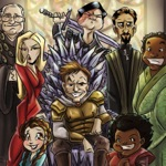 Cast of Community as the Cast of GoT