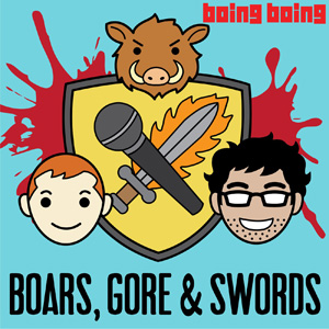 Boars, Gore, and Swords Logo